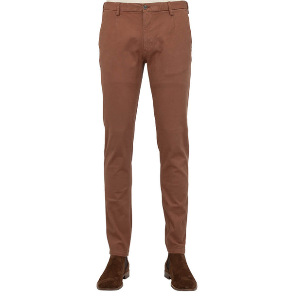 Copper Twill Five Pocket Trousers - Gagliardi