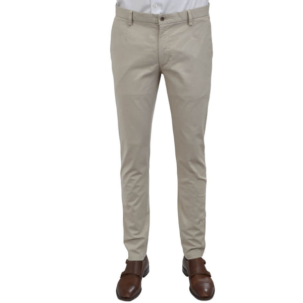 Putty Microweave Chino Trousers