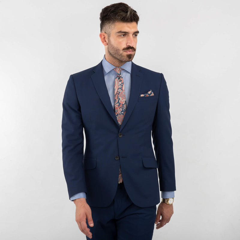 Napoli Blue Machine Washable Suit Mix & Match