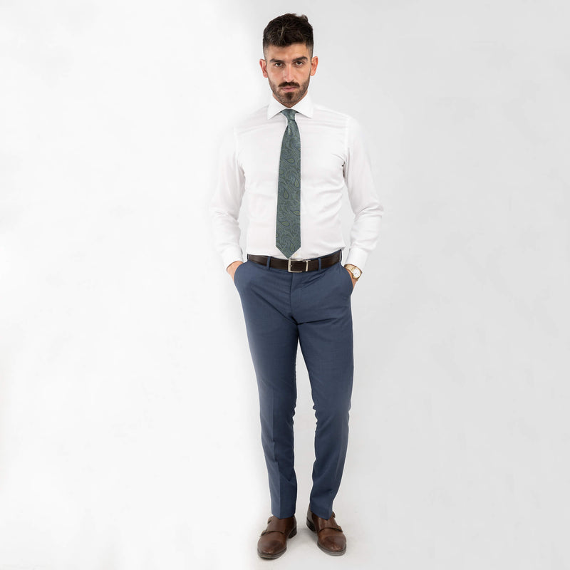 Air Force Blue Mix and Match Trousers