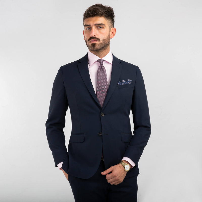 Lanificio Ing. Loro Piana Navy Blue Tropical Two-Piece Suit