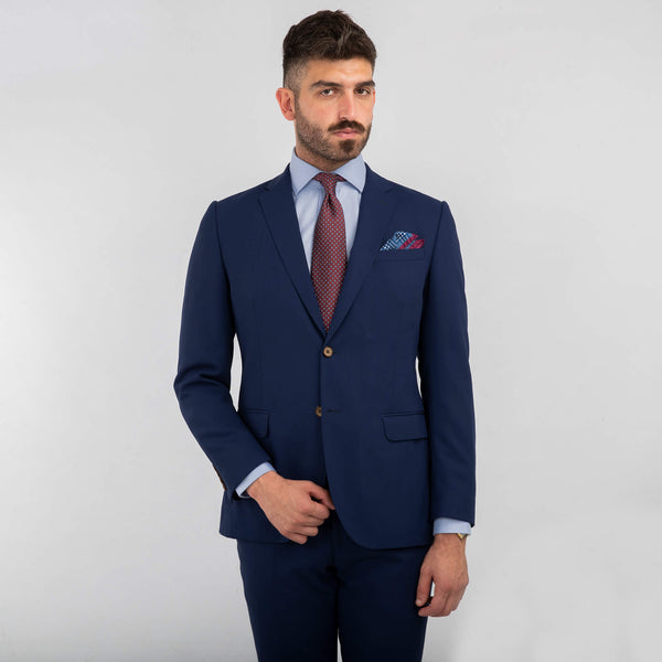 Lanificio Ing. Loro Piana Napoli Blue Tropical Suit