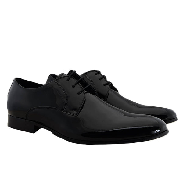 Black Patent Leather Dress Shoes