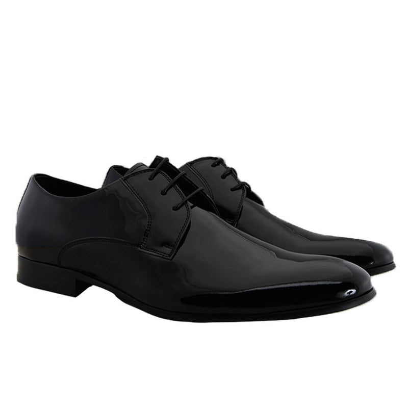 Black Patent Leather Dress Shoes - Gagliardi