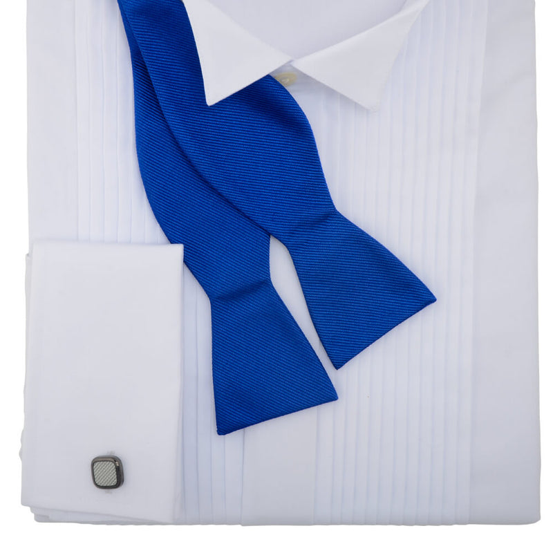 Royal Blue Self Tie Bow Tie - Gagliardi