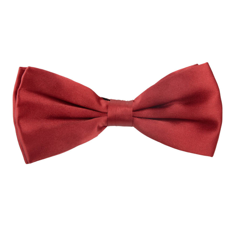 Red Silk Bow Tie - Gagliardi