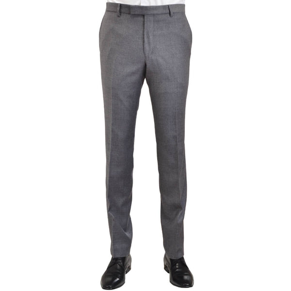 Grey Flannel Trousers - Gagliardi