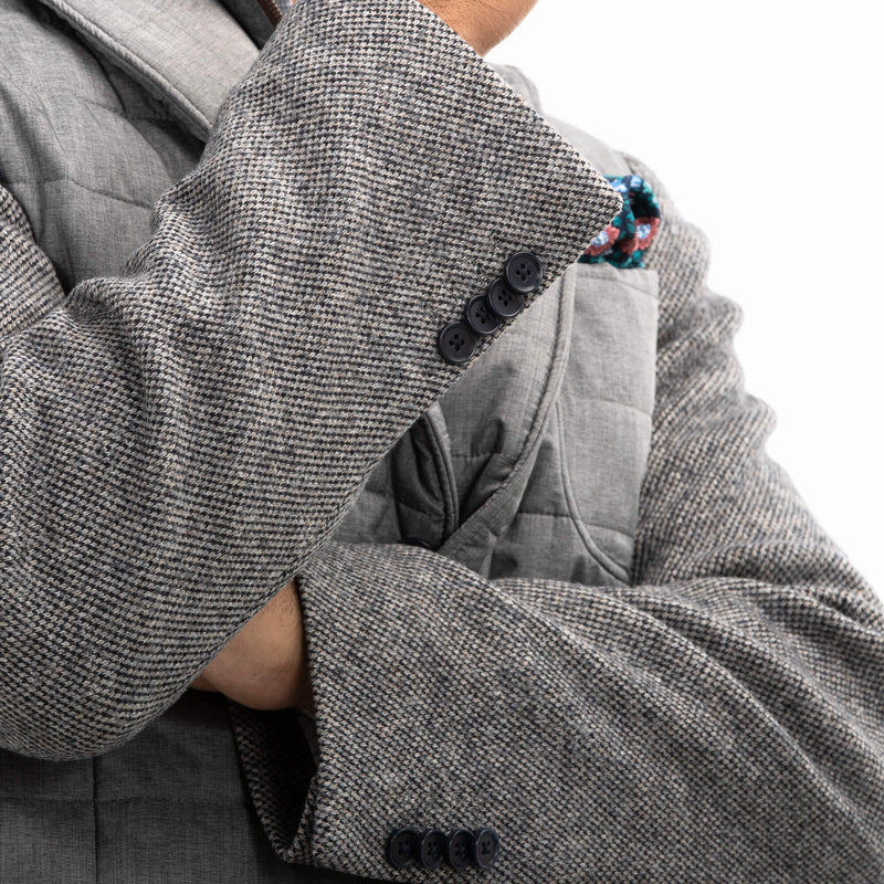 Grey Technical Pettorina Jacket