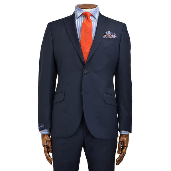 Cloth Ermenegildo Zegna Navy Pindot Suit