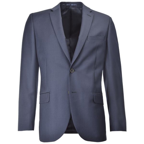 Cloth Ermenegildo Zegna Navy Micro Herringbone Two-Piece Suit - Gagliardi