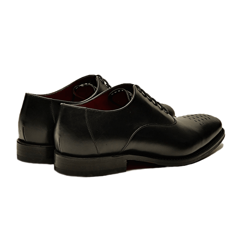 Black Polished Leather Shoes