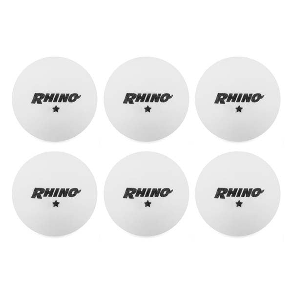1-Star Table Tennis Balls - 1/2 Dozen (1 pack) -