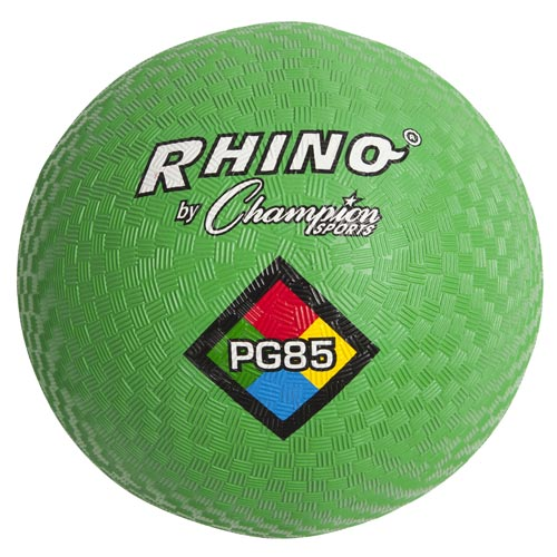 Green Colored Playground Ball