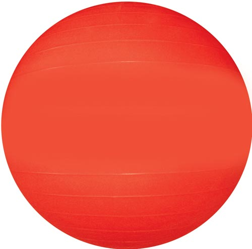 "Therapy/Exercise Ball - 65cm/26"" (Red)"