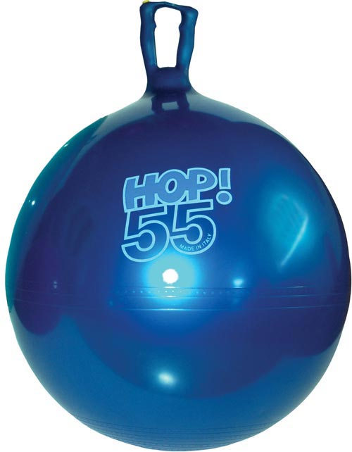 Hop Ball - Metallic Blue