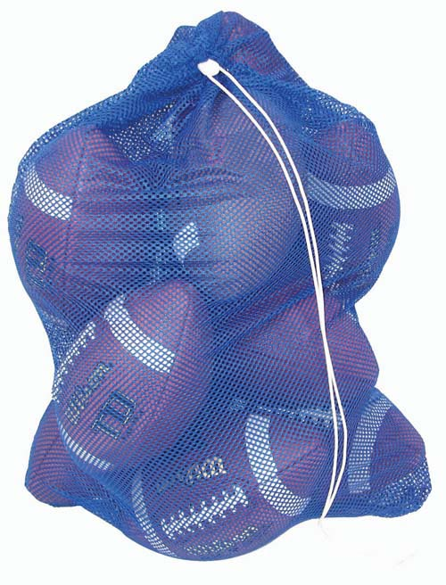 "24"" x 36"" Mesh Bag with footballs"
