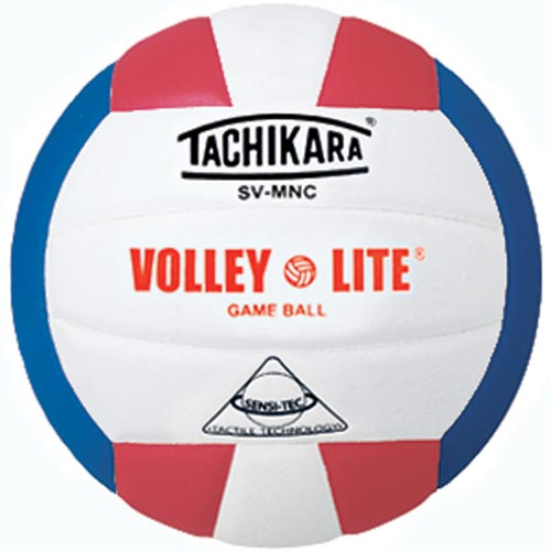 Tachikara SVMNC Volleyball - Red/White/Blue