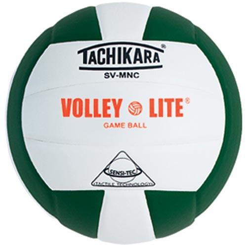 Tachikara SVMNC Volleyball - Dark Green/White
