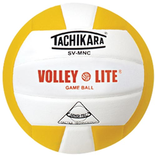 Tachikara SVMNC Volleyball - Gold/White