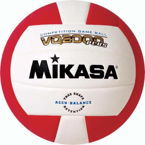 Mikasa VQ2000 Micro Cell Composite Volleyballs - Red/White