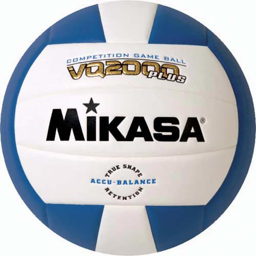 Mikasa VQ2000 Micro Cell Composite Volleyballs - Royal/White