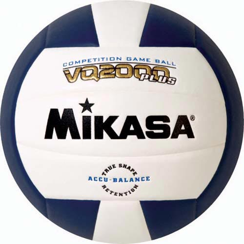 Mikasa VQ2000 Micro Cell Composite Volleyballs - Navy Blue/White