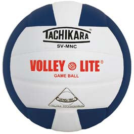 Tachikara SVMNC Volleyball - Navy Blue/White