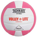 Tachikara SVMNC Volleyball - Pink/White