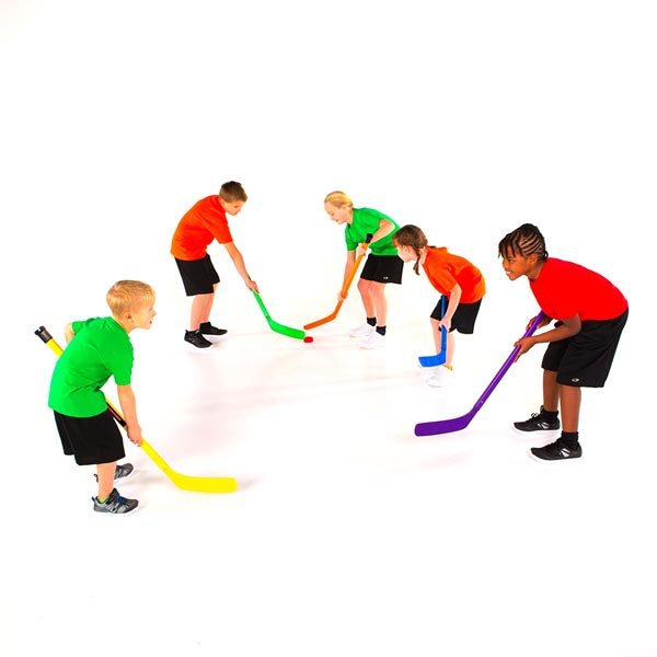 "36"" Cosom Colored Hockey Stick s"