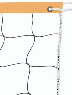 32' x 3' Volleyball Net w/ Neon-Orange Headband