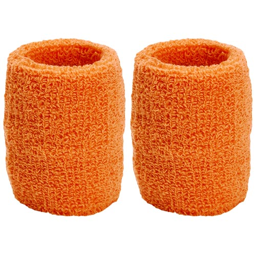 Red Absorbent Wristbands