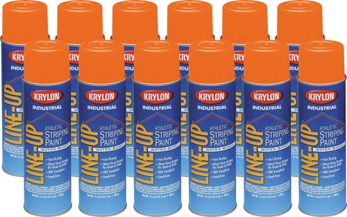 Krylon Athletic Paint (Case/12) - Orange