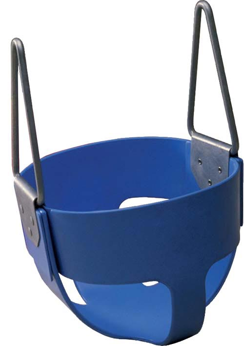 Blue  Enclosed Infant Swing Seat