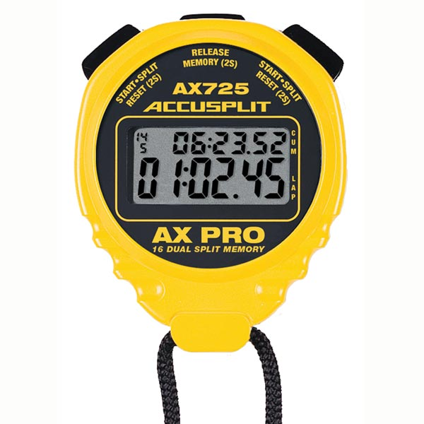 Yellow A601X Pro Survivor Stopwatch