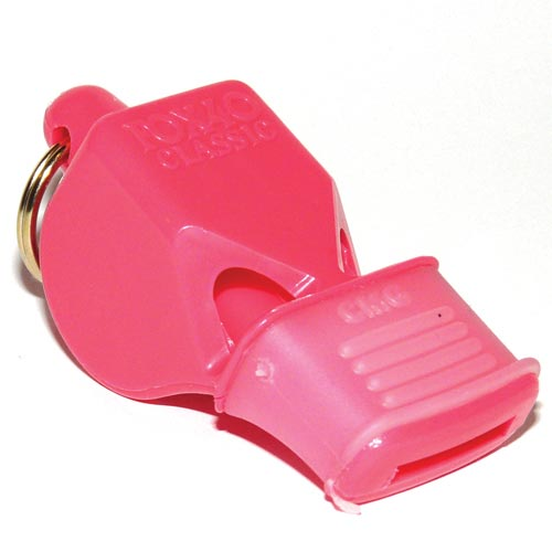 Pink Fox Classic CMG Officials Whistle