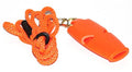 Orange Fox Micro Official's Whistle