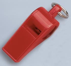 Windsor Clarion Official's Whistles - Red