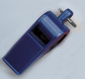 Windsor Clarion Official's Whistles - Blue