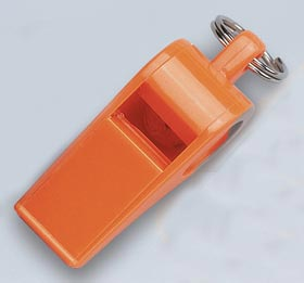 Windsor Clarion Official's Whistles - Orange