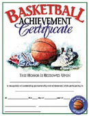 Basketball Certificate