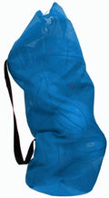 Jumbo Mesh Ball Bag - Blue