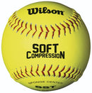Wilson Ultra Grip Soft Compression Fast Pitch Softball - 11""