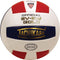 Tachikara SV5W Gold Leather Volleyball - R/W/B