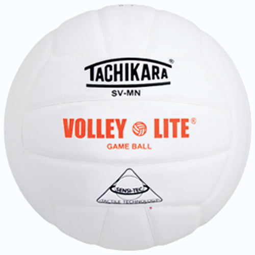 Tachikara SVMN Volley-Lite Composite Volleyball - White
