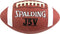 Spalding JV5 Leather Football - Size 9 (Official) NFHS Approved