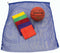 "42"" x 34"" Rainbow Mesh Bag - Set of 6"