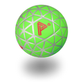 Green Play Impossible App Based Game Ball