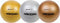 "Rhino Skin Dodgeballs - 6.3"" (Set of 3)(Metallic)"