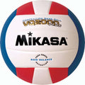 Mikasa VQ2000 Micro Cell Composite Volleyballs - Red/White/Blue