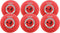 "Mikasa P850K Youth W.A.K.A. Kickballs - 8.5"" (Set of 6)"